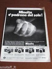 *11=MINOLTA=1970=PUBBLICITA'=ADVERTISING=WERBUNG=PUBLICITE=