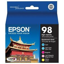 New Genuine Epson 98 High-capacity Ink T0982-T0986 Artisan 810/835/725/730/837