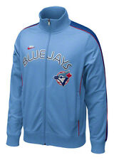 Nike-Cooperstown TORONTO BLUE JAYS PLAY AT THIRD Baseball Track jersey Jacket~S~