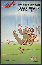 Military Humor - Parachute Not Opening  - Patriotic P515