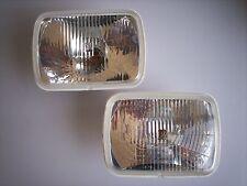 VW RABBIT GTI MK1 HEAD LIGHTS 1981-1984 NEW SOLD BY PAIR HELLA SQUARE