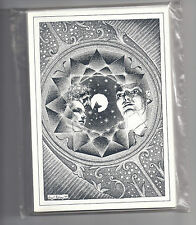 Big O Art Cards - Original 1970s - Eight Virgil Finlay Cards [Ref # 8]