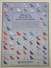 5/2000 PUB HAMILTON SUNDSTRAND AIRLINES ANA TWA SALE CSA WUHAN JTA MEA FUTURA AD