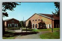 New Brunswick NJ, Rutgers University Commons, Chrome New Jersey Postcard