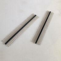 10X 1*40 40Pin 2,54mm 20mm Lange Header Pin Männlichen Brechen Stiftleiste Mini^