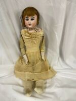 "Antique Cuno Otto Dressel  93-2 Germany Doll 20"" Bisque Head detached body"