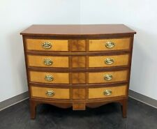 BAKER Historic Williamsburg Inlaid Mahogany & Satinwood Chest