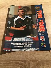 Dundee v Forfar Athletic 2004/05