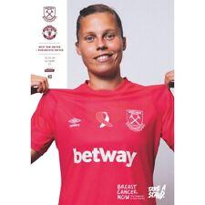 West Ham United Women V Manchester United Women 18/10/2020 Women's Super League