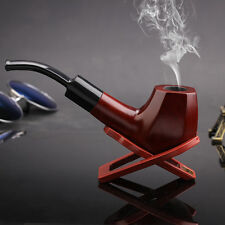 Fashion Ebony Smoke Pipe Wooden Pipe Fashion Pipe Gift