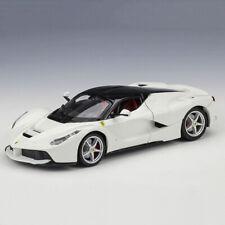 1:24 Scale Diecast Car Model White BBURAGO Ferrari Laferrari For Collection