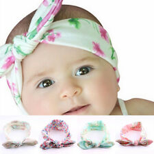 4 PCS Kids Baby Girls Accessories Headwear Bow Flower Hair Band Headband Toddler