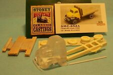 SMC-652A 1948-50 Ford Truck w/12' Wood Flat Bed HO-1/87th Scale Clear Resin Kit