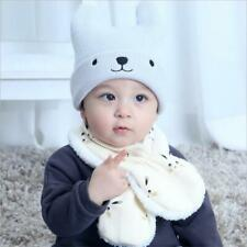 Baby Boys Girls Collar Scarf Cute Fall Winter Warm Bunny Ring Neck Scarves C