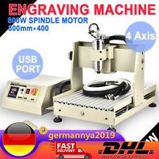4 AXIS 3040 CNC Router Engraver Graviermaschine Gravieren USB 800W Fräsmaschine