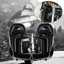 L&R Carenatura Gambe Lower Fairing Per 83-12 Harley Road King Electra Glide FLHT