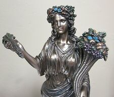 Demeter Ceres Statue Greek Harvest Goddess with Sheafs of Grain #WU75859A4
