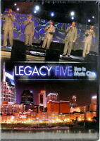 Legacy Five Live In Music City  BRAND NEW DVD  Quartet New Southern Gospel Songs