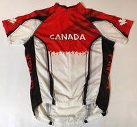 New Primal Mens Medium Team Canada Cycling Jersey