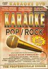 FREE SHIPPING - KARAOKE: POP ROCK DVD VIDEO NO KARAOKE MACHINE NEEDED OLD SCHOOL