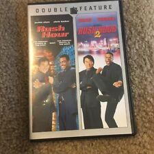 Rush Hour / Rush Hour 2 (Dvd, 2008, Double Feature) Chris Tucker, Jackie Chan