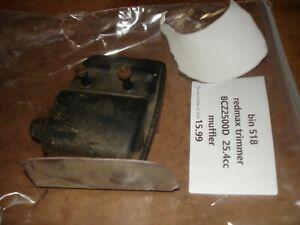 Redmax bcz2500d 25.4 cc muffler   trimmer part bin 518