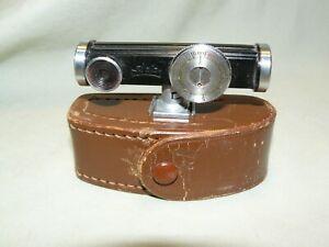 Vintage Walz Shoe Mount Range Finder with Leather Case