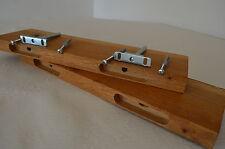 2x Steckboard Board Regal Wandregal Wandboard Wild Eiche Massivholz