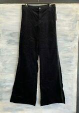 NEW! J BRAND 'Isabella' High Rise Tailored Flare Velvet Jeans, 29 - Black - $278