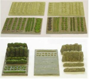 OO Scale Allotments or Gardens (OOS1 & OOS4)