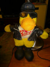 vintage Motorcycle Mascot Duck (Harley)  leather jacket Biker shirt