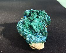 Brochantite, Cyanotrichite, Grandview, Coconino County, Arizona.