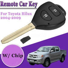 Genuine Remote Key 2 Button 433MHz 4D67 With Chip For Toyota Hilux 2004-2009 !
