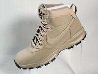Nike Manoadome 844358-200 Khaki Tan Grey Men's Hiking Trail Work Boots Sz 11