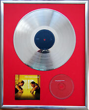 "Placebo Without you gerahmte CD Cover +12""Vinyl goldene/platin Schallplatte"