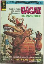 Dagar the Invincible #2 9 LOT(2) 1972 Gold Key Tales of Sword and Sorcery