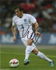 England Leighton Baines Autographed Signed 8x10 Photo COA A