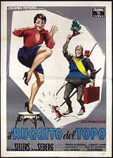 CINEMA-manifesto IL RUGGITO DEL TOPO sellers, seberg, JACK ARNOLD