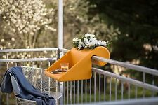 Balcony desk workstation portable railing table - Aussie owned and manufactured