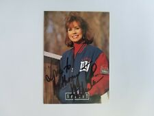 """""""Television Presenter"""" Kathie Lee Gifford Signed Trading Card Todd Mueller COA"""