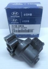 NEW GENUINE HYUNDAI IDLE VALVE HYUNDAI X3 EXCEL DOHC and SANTE FE 35150-33010