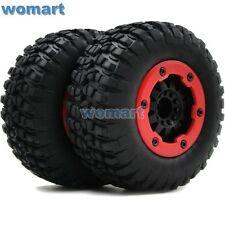 2Stück RC 1/10 Short Course Buggy Off Road Reifen Tire & Beadlock Wheel Hex 12mm