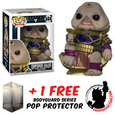 FUNKO POP DESTINY EMPEROR CALUS EXCLUSIVE VINYL FIGURE + FREE POP PROTECTOR