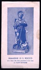"santino-holy card""S.ROCCO-SAN SEVERO"