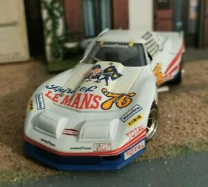 AMR KIT 1/43 Corvette Greenwood Le Mans 1976 /no bbr tron tameo starter. A Finir