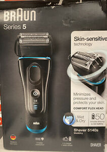 BRAUN 5140S Wet and Dry Electric Foil Men's Shaver