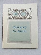 Eduard Doin Fribourg éditeurs Célébration du 25 an. Le 6. juillet 1912