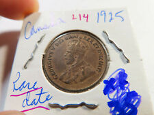 L14 Canada 1925 Small Cent RARE DATE