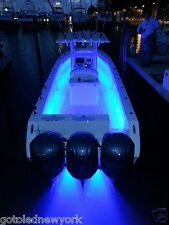 RGB 5050 WATERPROOF led strip IP65 Light Boat Pontoon cruise remote control 44 K