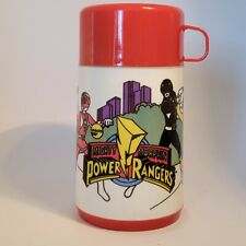 Vintage Mighty Morphin Power Rangers Aladdin Thermos Mug 1995